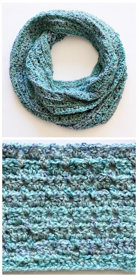 Beginners Infinity Scarf Crochet Pattern Free : Crochet Infinity Scarf - Dabbles & Babbles ...