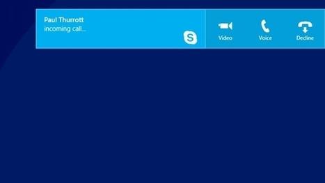 Skype Modern App Updated | Windows 8 Apps | Scoop.it