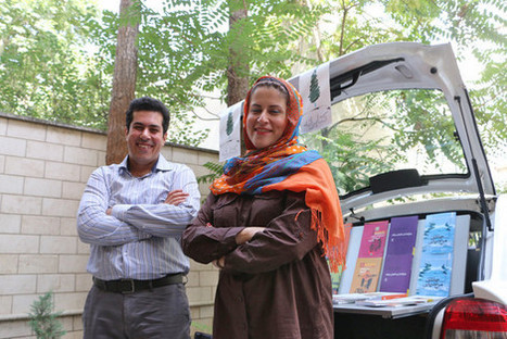 How a husband-and-wife team in Tehran turned their taxi into a rolling library | Librarysoul | Scoop.it
