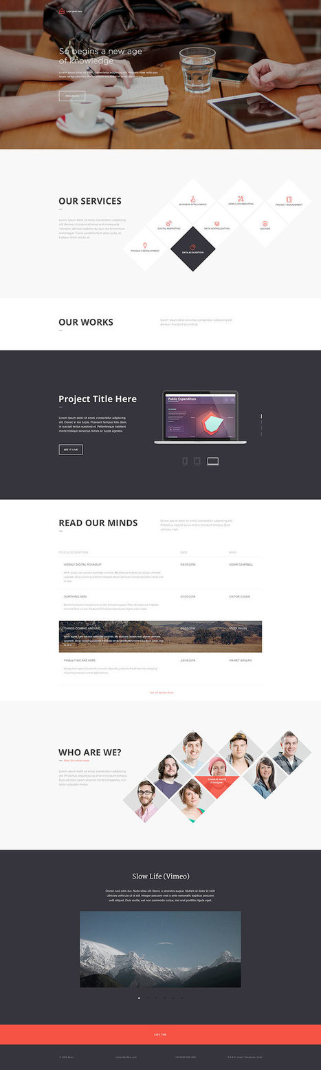 Free Landing Page Templates (10 Total) | Le journal  e-marketing | Scoop.it