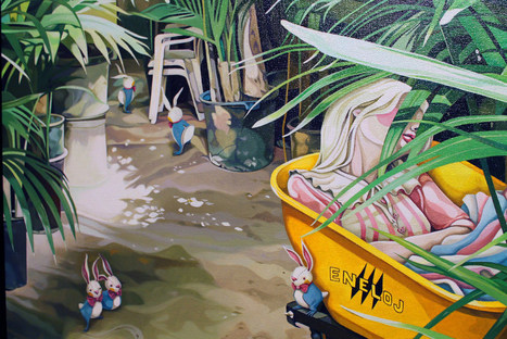 """Opening Night: """"Adrift"""" by Liz Brizzi at Thinkspace Gallery   Culture and Fun - Art   Scoop.it"""
