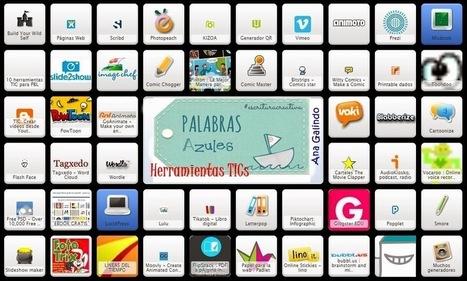 Symbaloo con Herramientas Digitales para la creación literaria en PaLaBraS AzuLeS | PaLaBraS AzuLeS | LAS TIC EN EL COLEGIO | Scoop.it