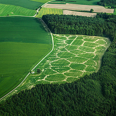 Agricultural Printing and Altered Landscapes by Benedikt Groß | green streets | Scoop.it