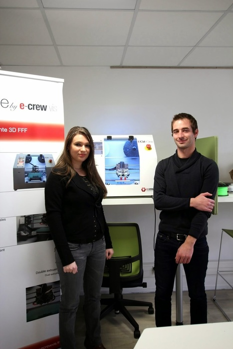 Inovallee: Inovallée : la start-up rennaise E-crew vis s'installe sur inovallée | 3D Printing -Addditive Mfg | Scoop.it