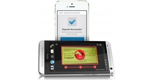 Now All You Need to Deposit a Check is a Smartphone | Digital-News on Scoop.it today | Scoop.it
