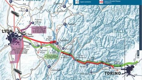 Les poids-lourds pourraient être mis à contribution pour financer le Lyon-Turin | L'actualité du bassin lyonnais | Scoop.it
