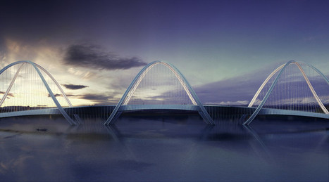 Penda Designs Bridge Inspired by Olympics Rings for 2022 Beijing Winter Games | Arkitektura xehetasunak | Scoop.it