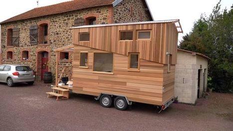 La Tiny House De Bruno Thiéry En Normandie, France | Maison ossature bois écologique | Scoop.it