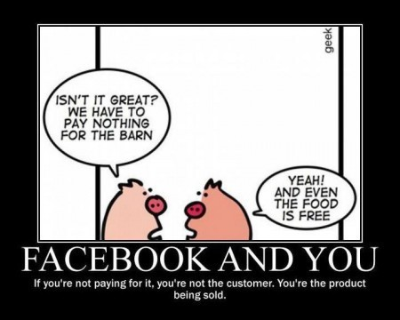 Facebook and You : You're not the customer, you're the product | Evolving Privacy in Social Media | Scoop.it