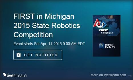 FIRST Robotics | Programs | DPTV | Into the Driver's Seat | Scoop.it