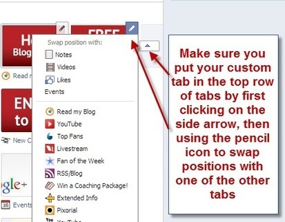 How to Create a Free Custom Facebook Tab with Tabfoundry   Facebook Page   Scoop.it