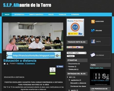 Blog de aula en la Educación de Adultos | Las TIC y la Educación | Scoop.it