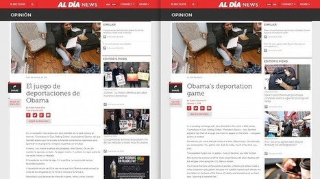 How Al Día, Philadelphia's Spanish-language newspaper, is adapting to a bilingual world | Linguistics Notes for Translators | Scoop.it