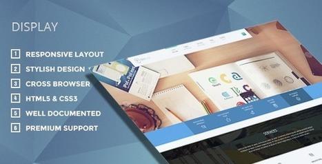 Display - Creative WordPress Theme | TeslaThemes | Clean WordPress Themes | Scoop.it