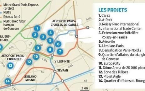 Premiers recrutements au centre commercial Aéroville. 132 000 emplois créés d'ici 2030 autour du Grand Roissy | Projets & actu | Scoop.it