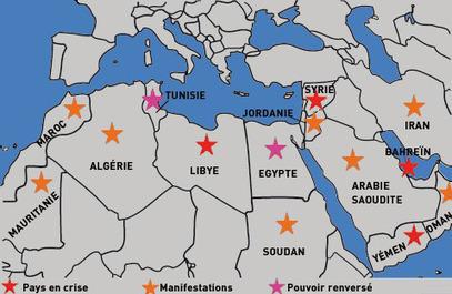 Egypte, Tunisie : le printemps arabe a-t-il vraiment dit son dernier mot ? | Le Monde Arabe | Scoop.it