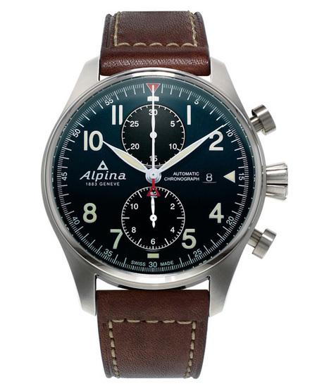 The 7 exclusive journal Alpina Startimer Pilot Chronographe Automatique. | La chronique Alpina | Scoop.it