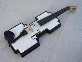 8 Bit Violin by evlviolins - Thingiverse | FabLabs & Open Design | Scoop.it