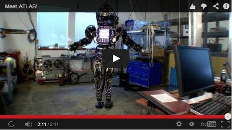DARPA Testing Amazing Humanoid Robot [video] | 21st Century Innovative Technologies and Developments as also discoveries, curiosity ( insolite)... | Scoop.it