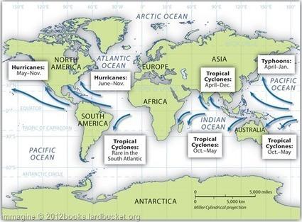 Terminologia etc. » » Cicloni, tifoni e uragani   neologism   Scoop.it