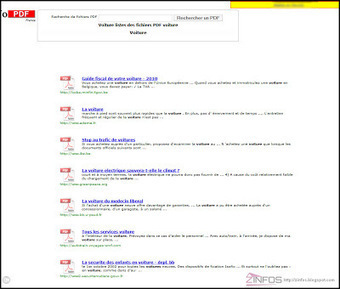Yo PDF le moteur de recherche de PDF ~ ZinfosWeb | Geeks | Scoop.it