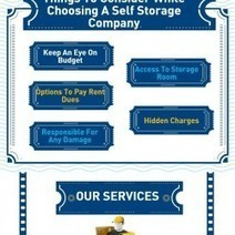 Things To Consider While Choosing A Self Storage Company   Visual.ly   Selfstorage Tameside   Scoop.it