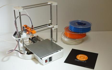 TOP 12 des imprimantes 3D à assembler soi-même - 3Dnatives | Fablabs, makerspaces, robots et DIY | Scoop.it