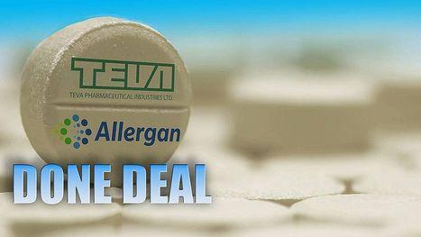 Teva-Allergan, è fatta: l'antitrust USA dice sì alla cessione del ramo generici | MioPharma Blog | Scoop.it