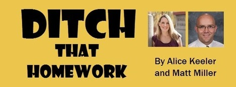 Ditch That Homework | Transformational Teaching and Technology | Scoop.it