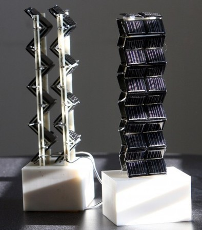 New 3D solar towers offer up to 20 times more power output | Stuff that Tweaks | Scoop.it