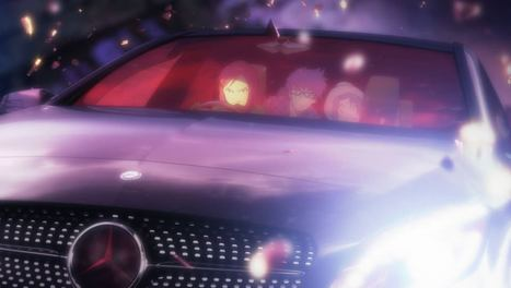 Mercedes-Benz Creates Anime Series or Commercial… or Both | Anime News | Scoop.it