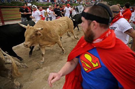 Thrill-seekers run with bulls -- in Georgia | Around Georgia: art and whatnot | Scoop.it