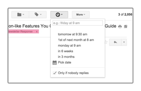 Email Schedulers: Which One is Right for You? | The Gooru | iEduc | Scoop.it