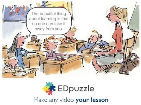 EDpuzzle sur Twitter | Edtech PK-12 | Scoop.it