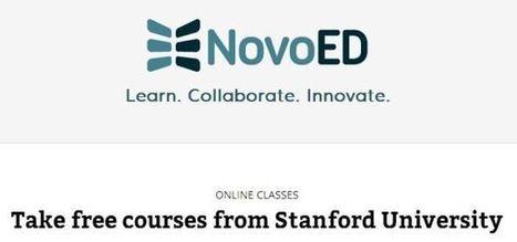 NovoEd estrena su servicio ofreciendo cursos online de la Universidad de Stanford.- | Innovaciones Educativas | Scoop.it