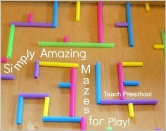 How to make a simply amazing maze for play | Teach Preschool | Scoop.it