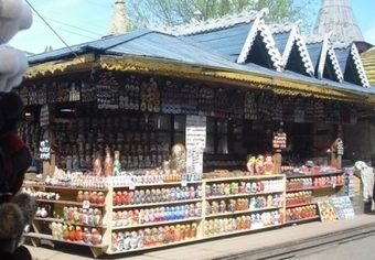 Shopping at Izmailovo Market: Where to Buy Souvenirs in Moscow, Russia | Life in Moscow From an Expat Perspective | Scoop.it