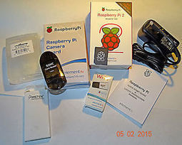 Raspberry PI 2 Model B 1Gb w/5MP Camera kit,Wi-Fi, 8GB SDcard & Card USB reader | Raspberry Pi | Scoop.it