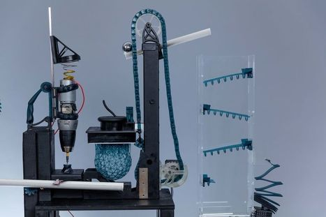 How We Built A 3D Printed Rube Goldberg Machine | Heron | Scoop.it