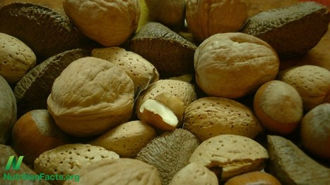 Which Nut Fights Cancer Better? | NutritionFacts.org | The Basic Life | Scoop.it