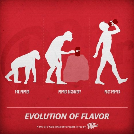Dr Pepper's Evolution Joke on Facebook Riles Up Creationists | Brand Marketing & Branding | Scoop.it