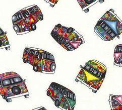 Campervan Cotton Poplin Collection | VW Camper Vans | Scoop.it