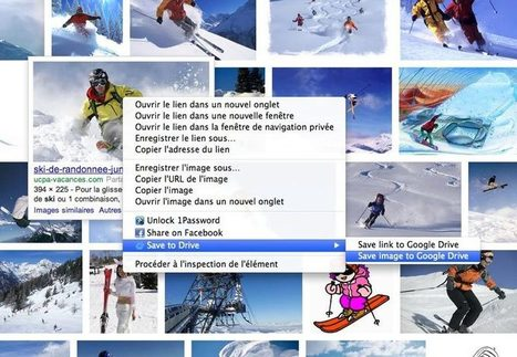 Extension Chrome : enregistrer des images, pages web dans Drive | François MAGNAN  Formateur Consultant et Documentaliste | Scoop.it