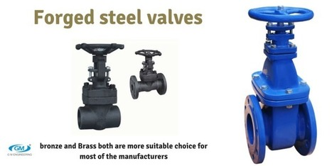 Bronze and brass are most suitable to make forged steel valves   Valve manufacturers and exporters in India   Scoop.it