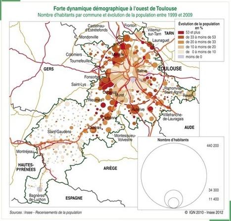 Toulouse et sa région face aux défis d'un boom démographique | La lettre de Toulouse | Scoop.it