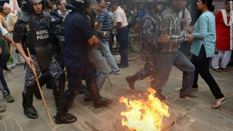Western Nepal: Protesters kill police with spears, axes  - CNN.com | Police Problems and Policy | Scoop.it