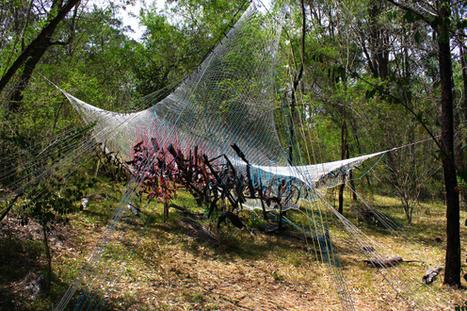 Alana Tracey: Warped Geometry | Art Installations, Sculpture, Contemporary Art | Scoop.it