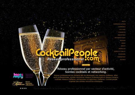 Professionnel par secteur d'activité, soirées rencontres professionnelles, cocktails réseau d'affaires, soirées networking   Marketing digital   Scoop.it