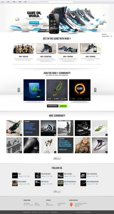 Great Web Design Inspiration | From up North | Web and graphic design | Scoop.it