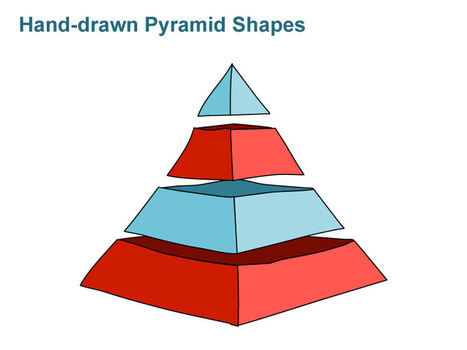 Triangle Based Pyramid - Hand-drawn | PowerPoint Presentation Tools and Resources | Scoop.it